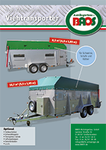 Flyer Schweinetransporter BAOS